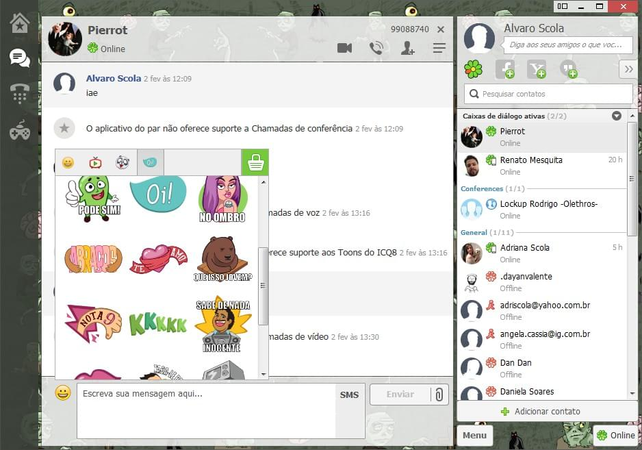 ICQ - Imagem 2 do software