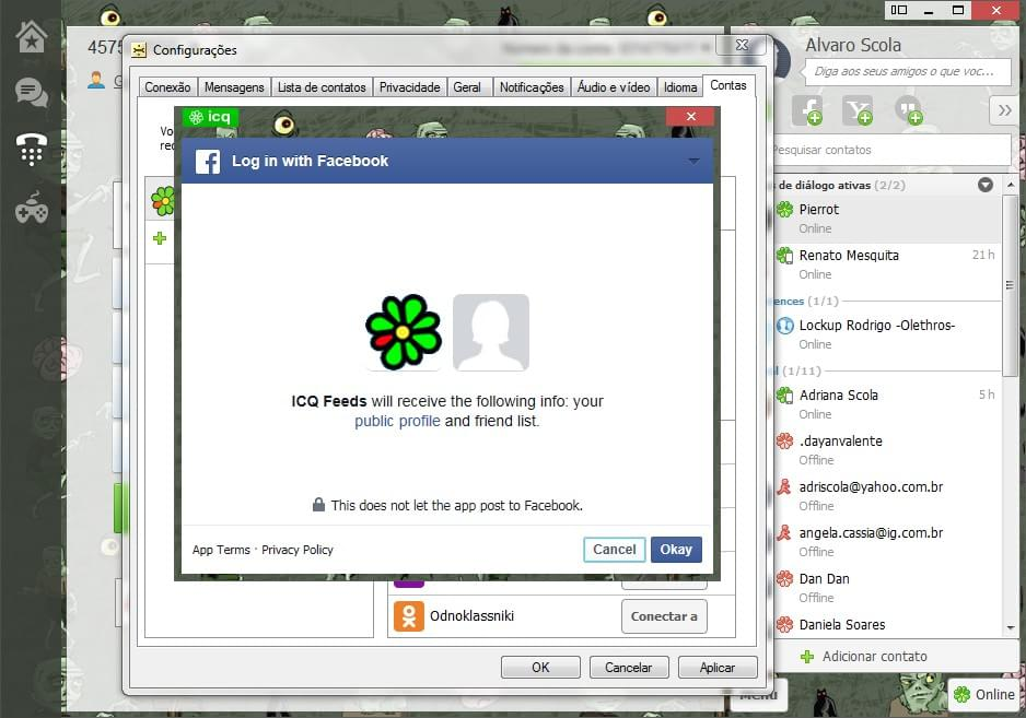 ICQ - Imagem 4 do software