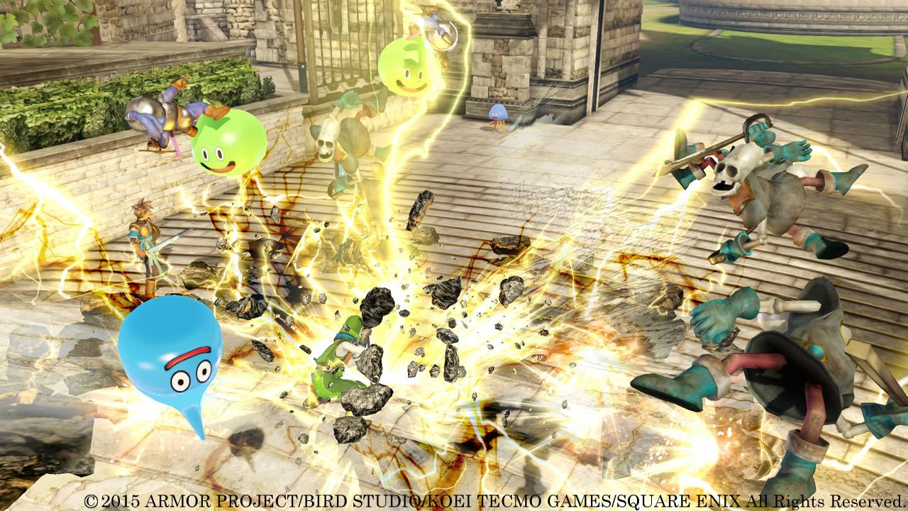 Novo vídeo de Dragon Quest Heroes mostra as habilidades de Kiryl e Alena
