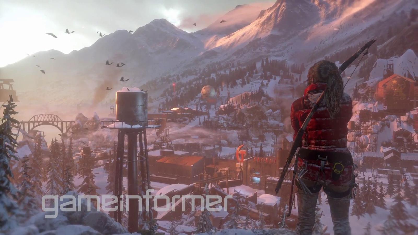 Lara vai desvendar os segredos da imortalidade em Rise of the Tomb Raider