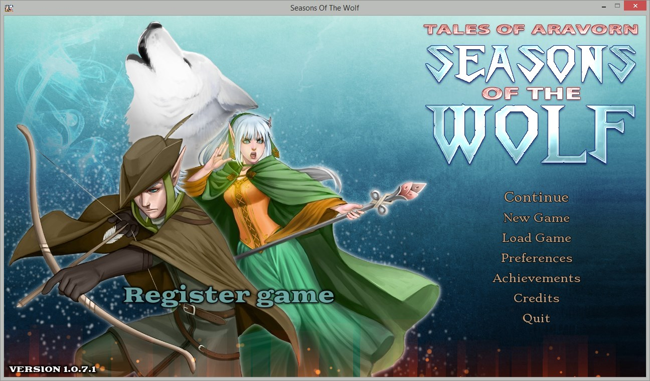 Tales of Aravorn: Seasons Of The Wolf - Imagem 1 do software