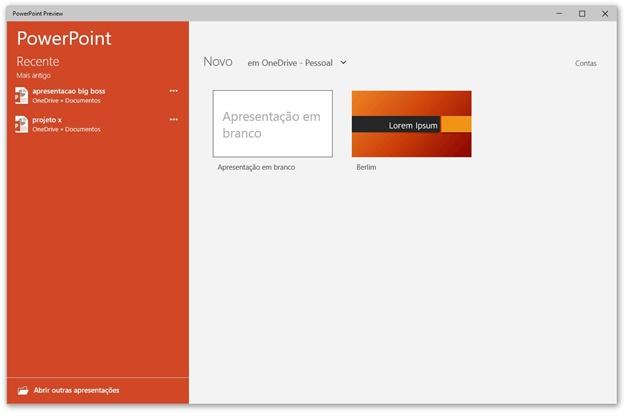 powerpoint para windows 10 download