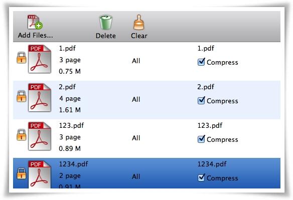 Cisdem PDFPasswordRemover - Imagem 2 do software