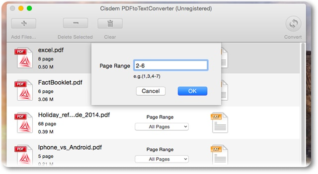 Cisdem PDFtoTextConverter - Imagem 2 do software