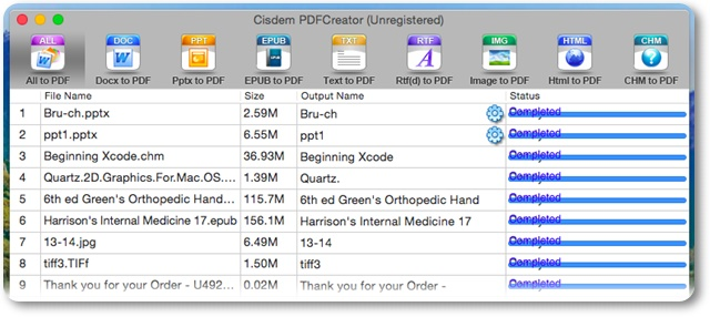 Cisdem PDFCreator - Imagem 2 do software