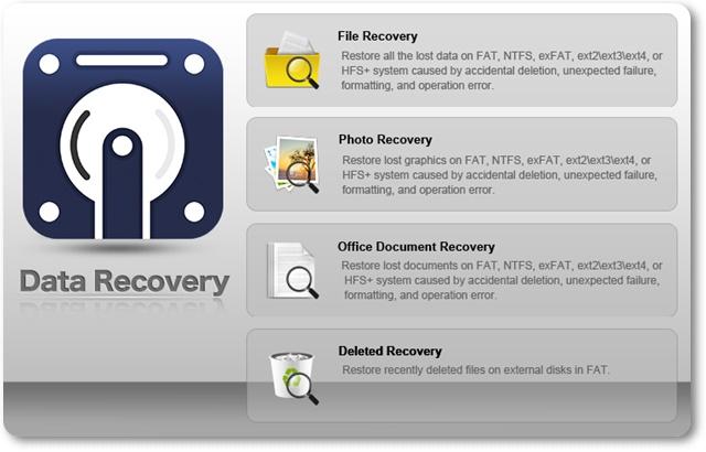 Cisdem DataRecovery - Imagem 1 do software