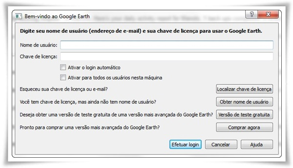 Google Earth Pro - Imagem 2 do software