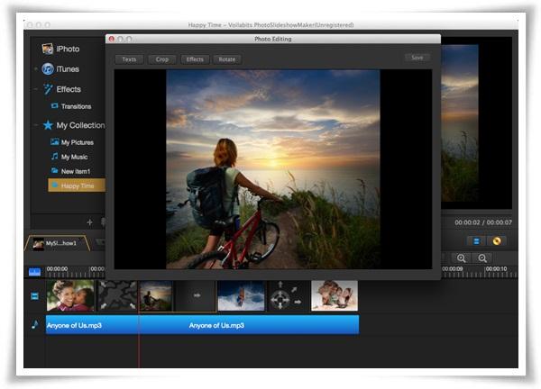 Voilabits PhotoSlideshow Maker for Mac - Imagem 2 do software