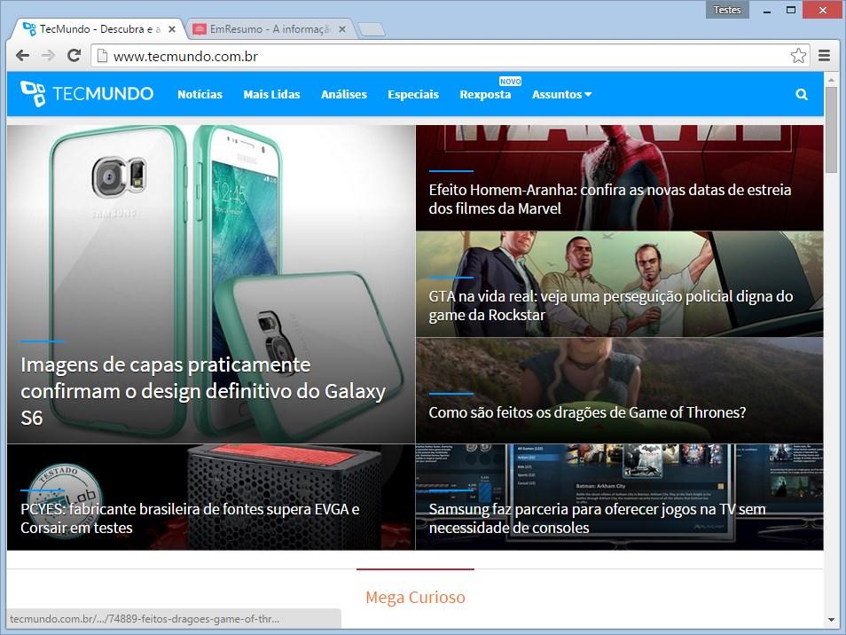 Google Chrome Dev - Imagem 1 do software