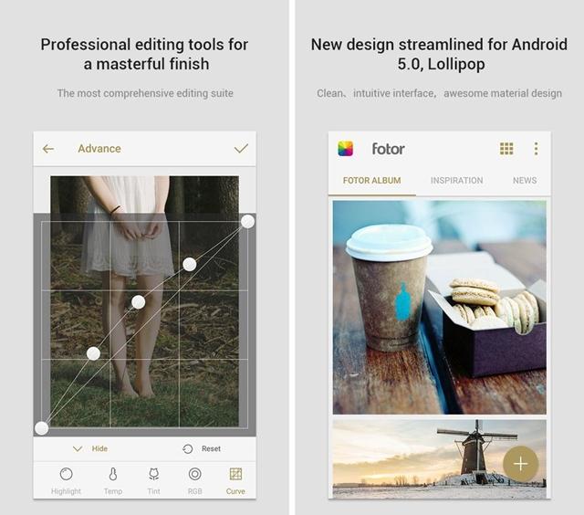 Fotor Photo Editor - Imagem 1 do software