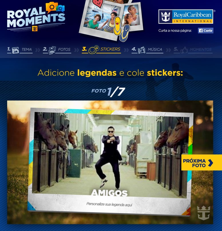 Royal Moments - Imagem 1 do software