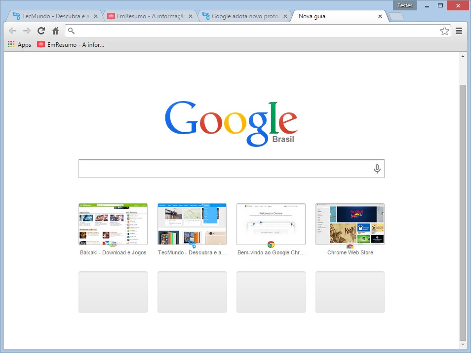 Google Chrome Dev - Imagem 3 do software