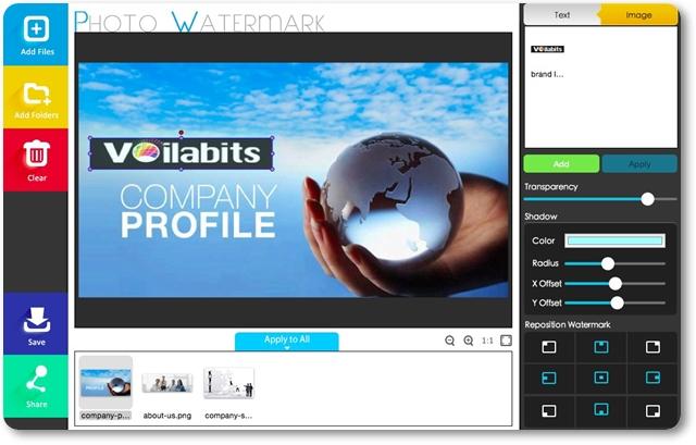 Voilabits PhotoWatermark - Imagem 1 do software