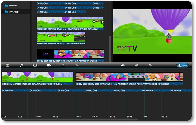 Voilabits VideoEditor - Imagem 1 do software