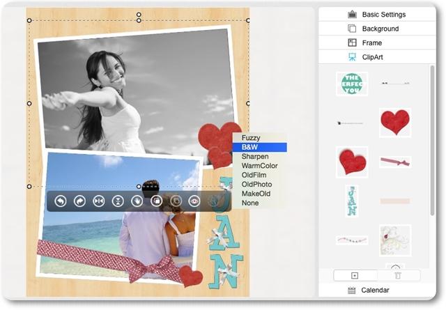 Voilabits PhotoCollageMaker - Imagem 2 do software