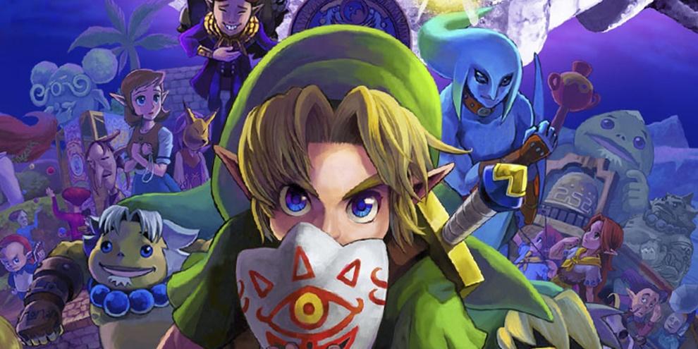 the legend of zelda majora s mask 3d voxel