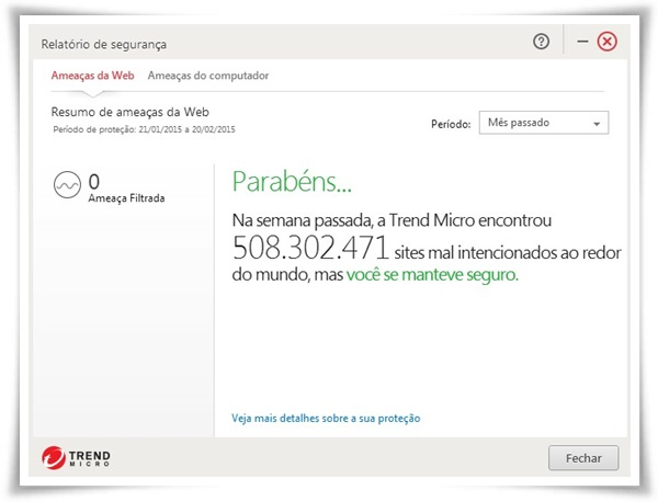 Trend Micro Titanium Antivirus+ para Mac - Imagem 2 do software