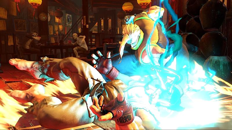 Charlie ressurge dos mortos mais violento que nunca em Street Fighter 5