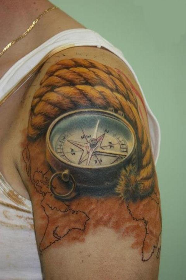 25 tatuagens 3d que v o fundir o seu c rebro mega curioso for Best tattoos ever done