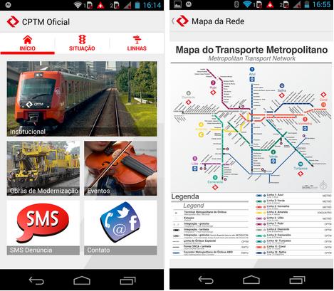 CPTM Oficial - Imagem 1 do software