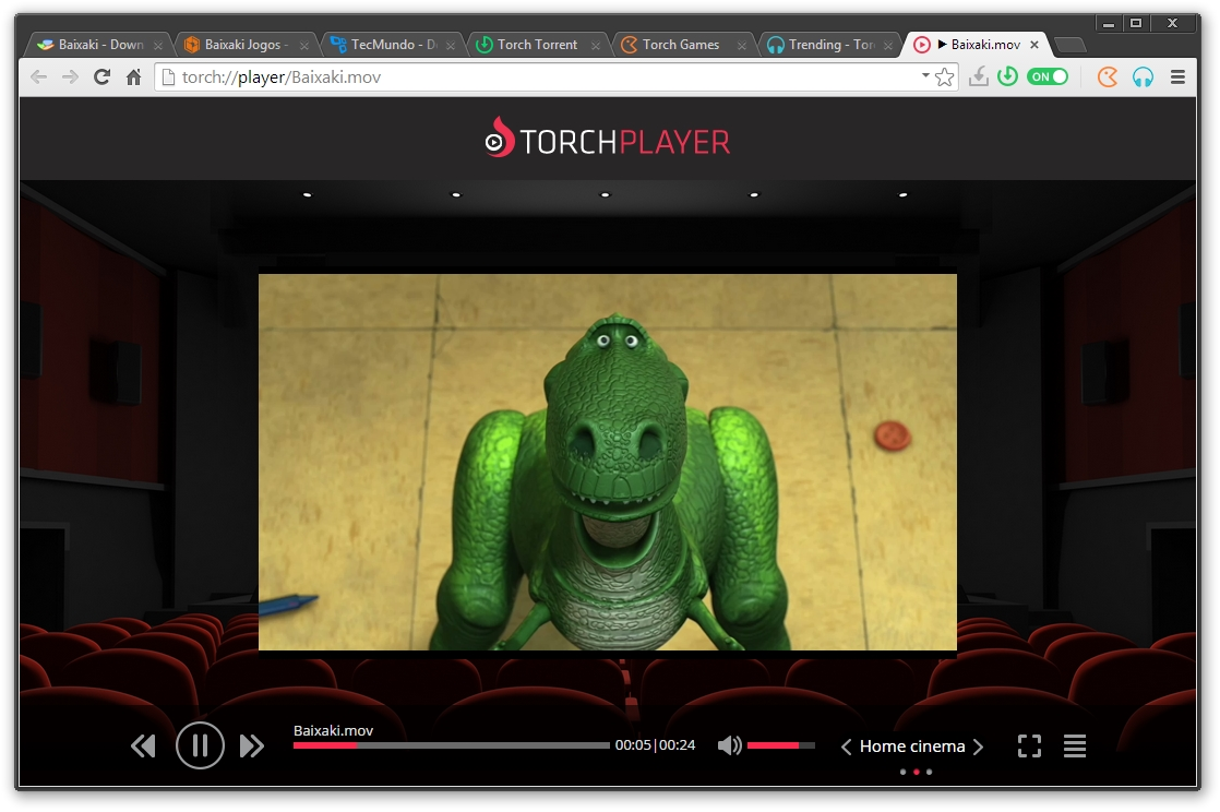 Torch Player