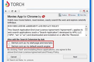 Torch Browser Download to Windows Grátis