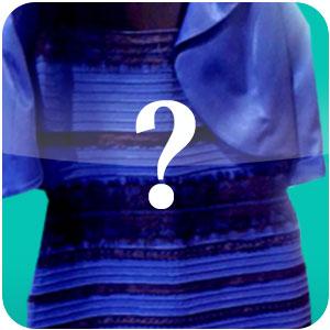 Vestido Preto E Azul Ou Branco E Dourado Download Para Web