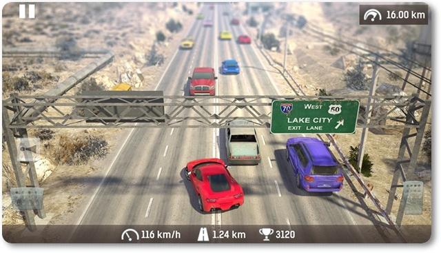 Traffic: Road Racing - Asphalt Street Cars Racer 2 - Imagem 1 do software