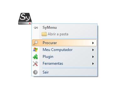 O menu principal da ferramenta