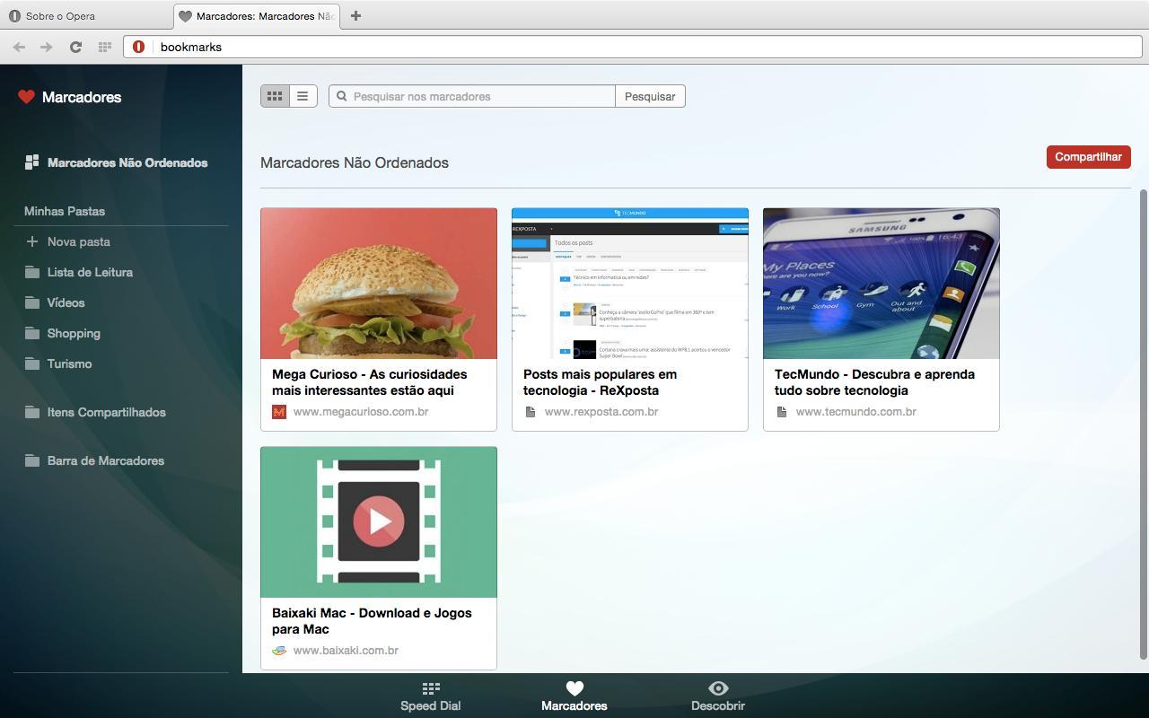 Opera - Imagem 3 do software
