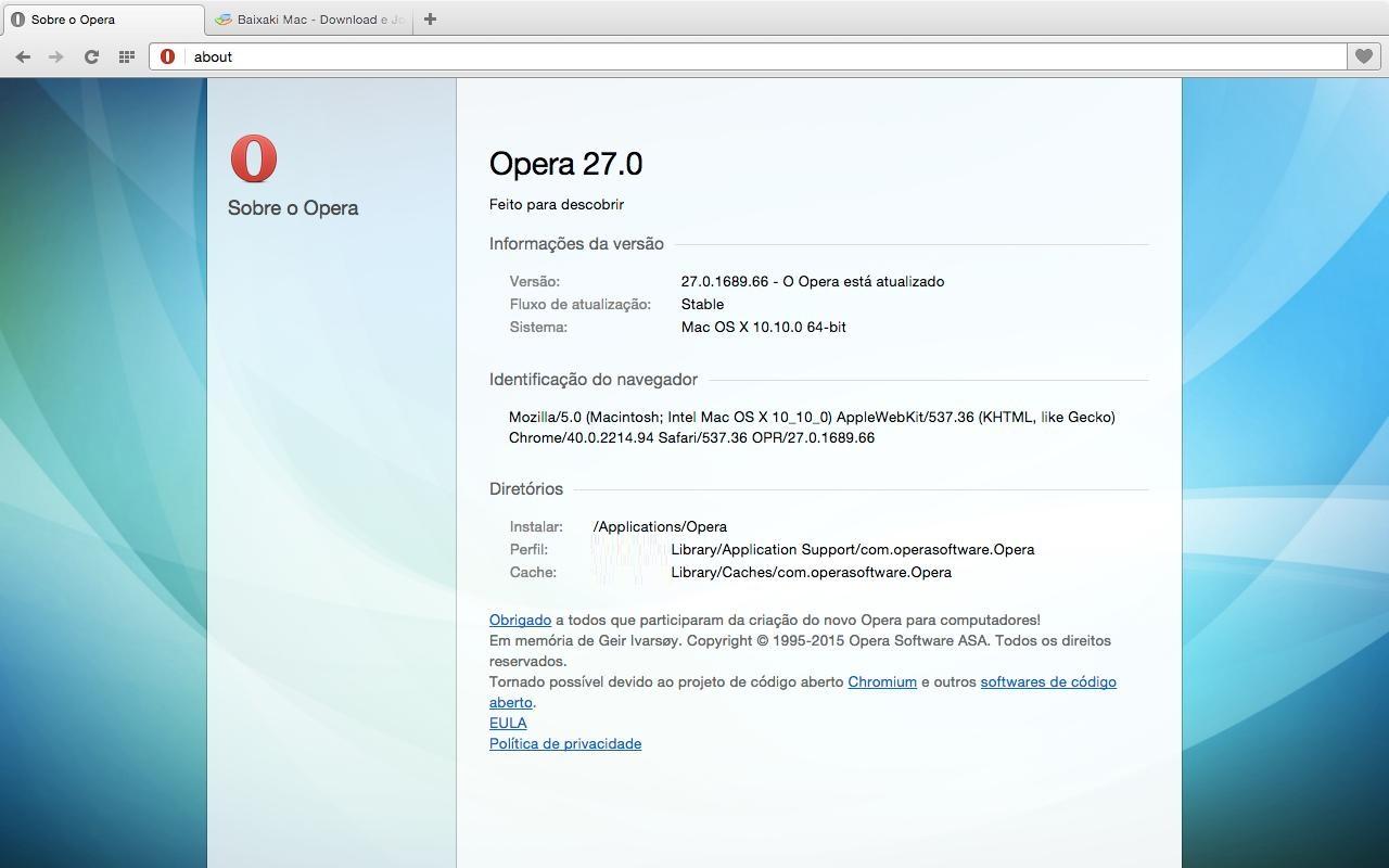 Opera - Imagem 5 do software