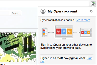 Opera - Imagem 4 do software