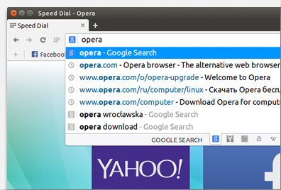 Opera - Imagem 6 do software