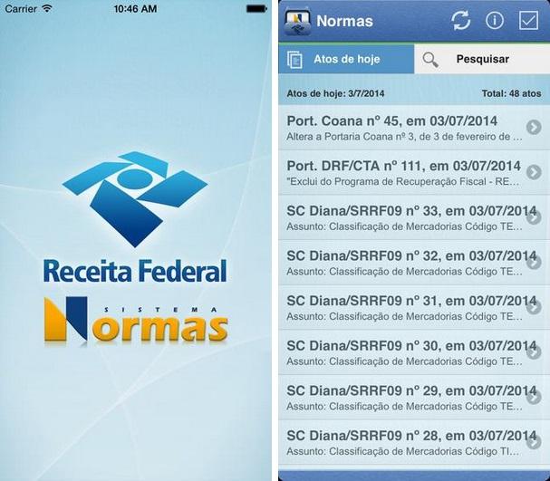 Normas - Imagem 1 do software