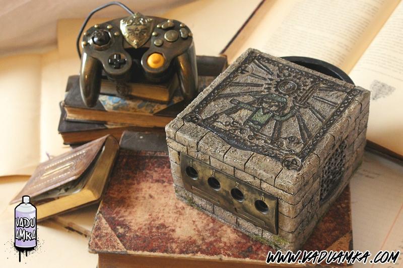 Este GameCube de Zelda é o console digno de um herói do tempo