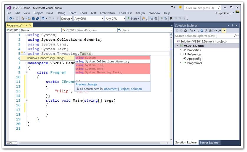Visual Studio 2017 Download to Windows Grátis