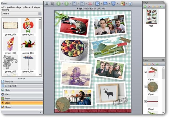 Picture Collage Maker Pro - Imagem 1 do software