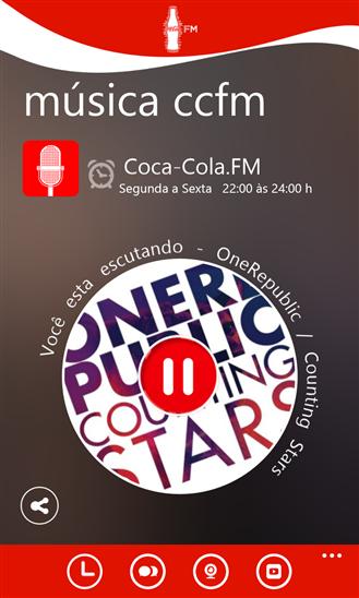Coca-Cola.FM Brasil - Imagem 1 do software