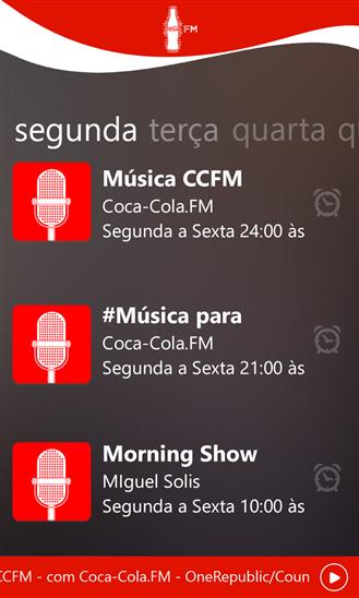 Coca-Cola.FM Brasil - Imagem 2 do software