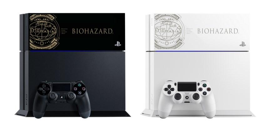 PS4: tampas temáticas de Resident Evil e Samurai Warriors chegam ao Japão