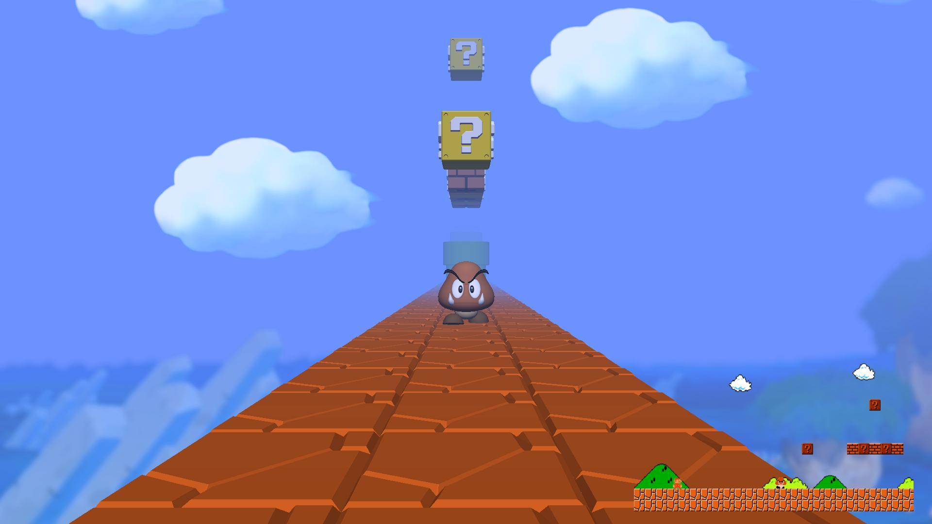 Super Mario Bros. First Person - Imagem 1 do software
