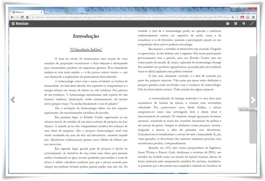 Readium - Imagem 1 do software