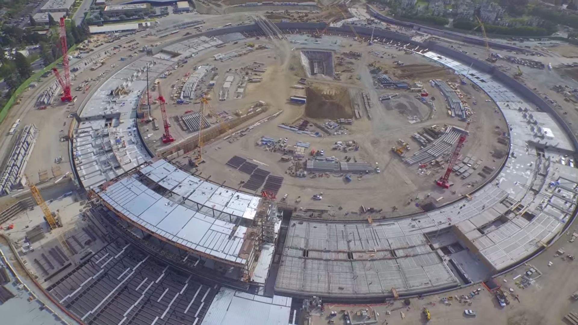 Veja como está a construção do Apple Campus 2 em 4K [vídeo]