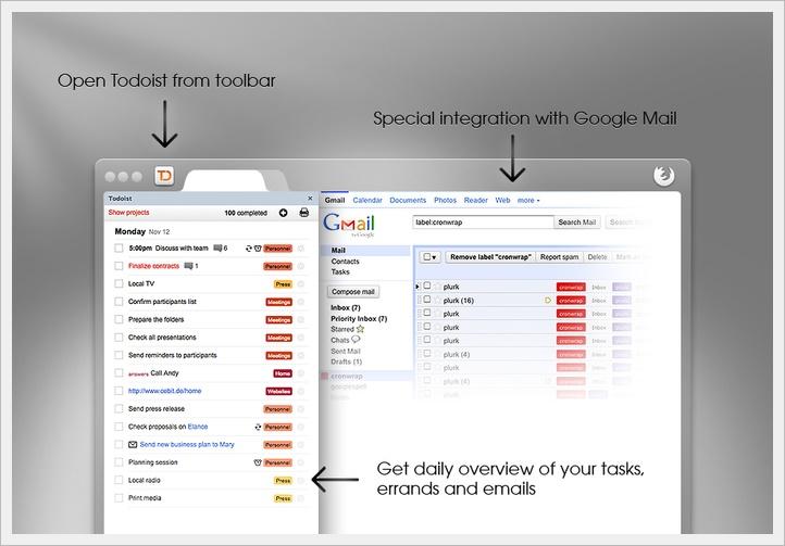 Todoist - Imagem 1 do software