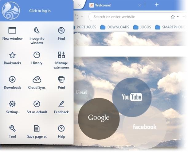 UC Browser - Imagem 2 do software