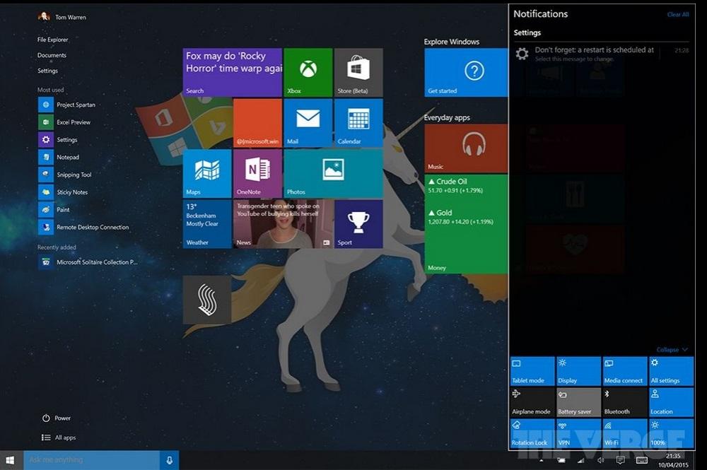 Agora sim! Microsoft melhora experiência touchscreen no Windows 10