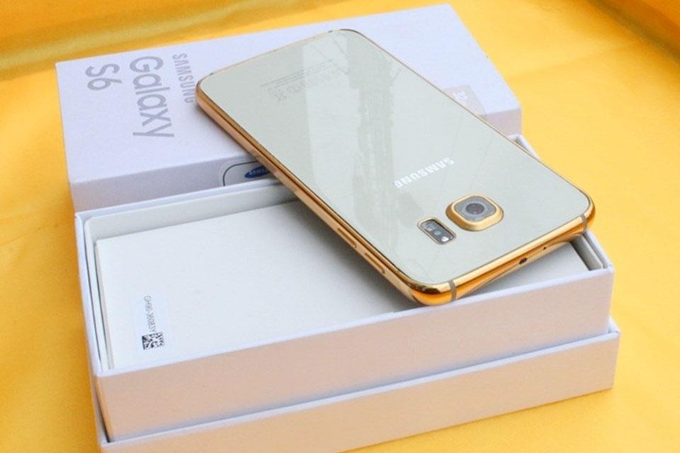 Estes são o Galaxy S6 e Galaxy S6 Edge banhados a ouro 24K [galeria]