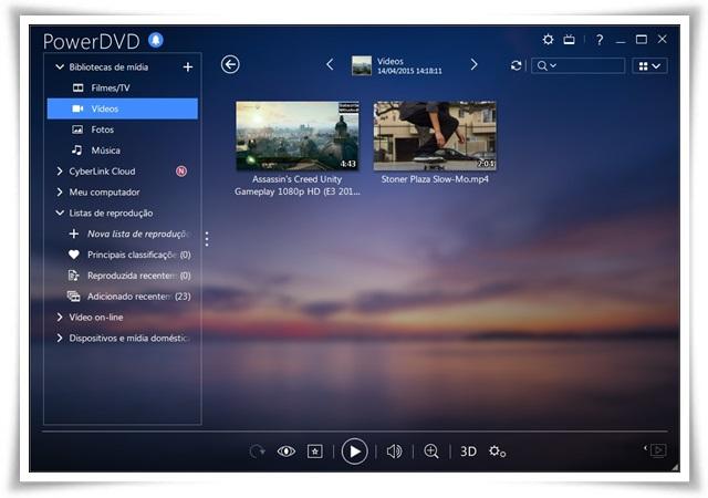 Download do Cyberlink PowerDVD para Windows
