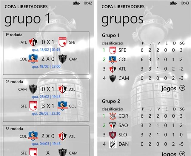 Copa Libertadores - Imagem 1 do software