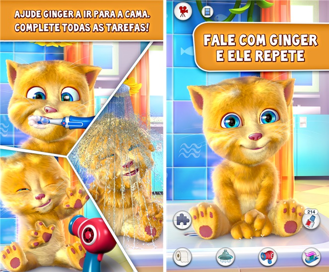 Talking Ginger - Imagem 1 do software